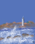 light house Cornwall