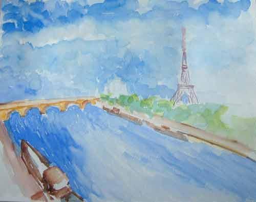La tour Eiffel de Ben