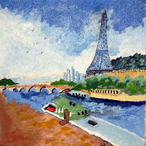 La tour Eiffel de Christiane