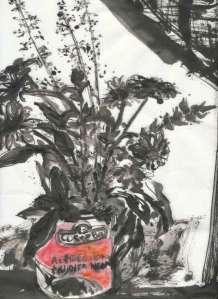 sumi-e-bouquet