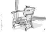 armchair with Zenbrush