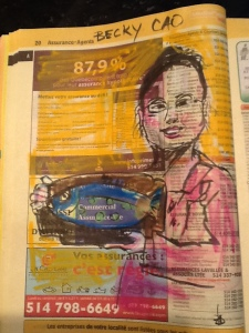 Yellow pages portrait
