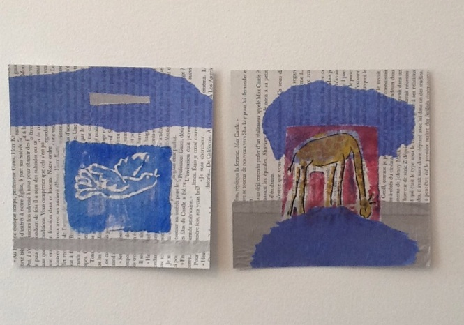 bestiaire collage
