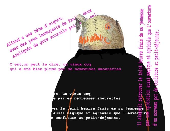 Alfred tete d'oignon