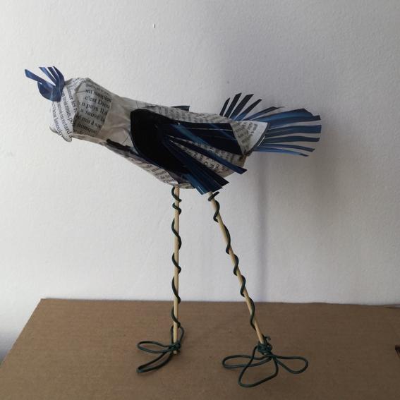 oiseau en papier