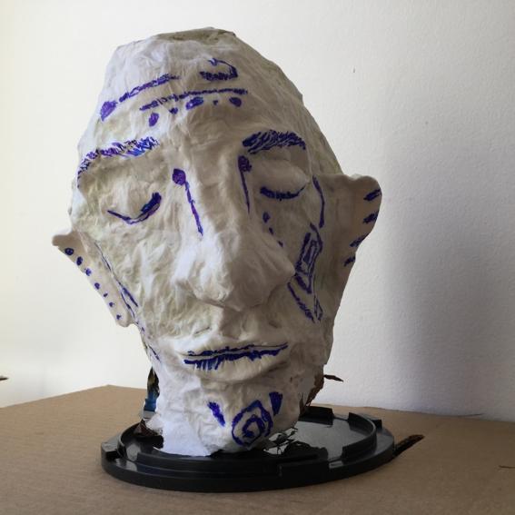 head paper painted 1