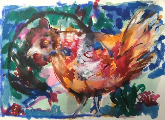 la poule