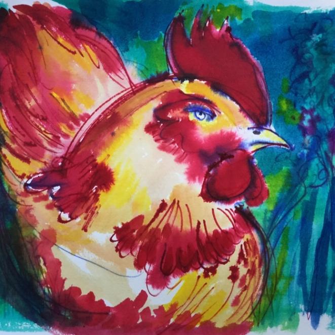les poules 1