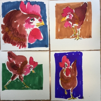 Les poules 5