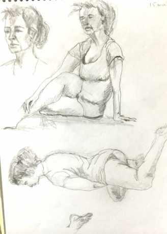 15mn pose